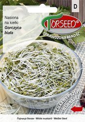 Gorczyca biała - Nasiona na kiełki 50g