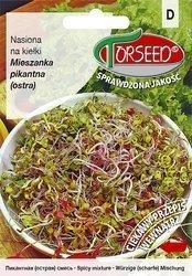 Mieszanka pikantna (ostra) - Nasiona na kiełki 20g