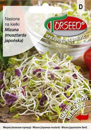 Mizuna (musztarda japońska) - Nasiona na kiełki 5 g