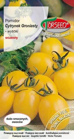 Pomidor wysoki Cytrynek Groniasty – typ cherry 0,1g