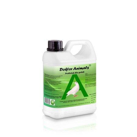 Probiotyk dla gołębi i ptaków ozdobnych – Doktor Animals 1,0 L